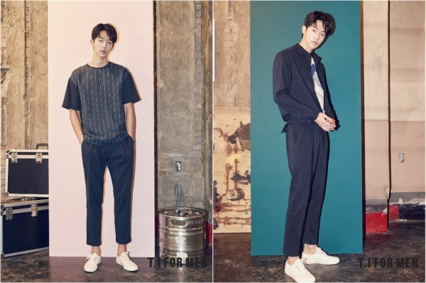 L'acteur Nam Joohyuk pour T.I for Men, printemps 2017