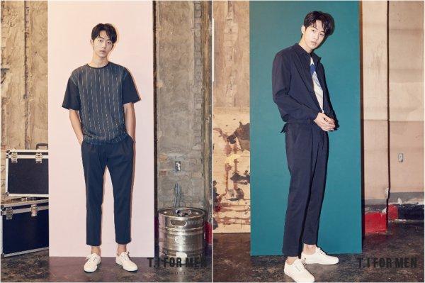 L'acteur Nam Joohyuk pour T.I for Men, printemps 2017