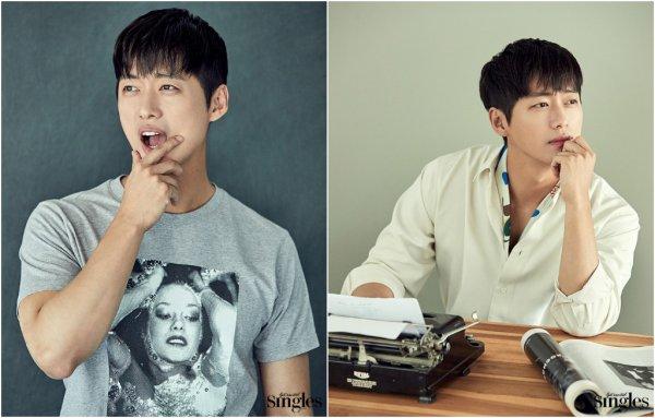 L'acteur Nam Goong Min pose pose pour Singles, édition juillet 2017