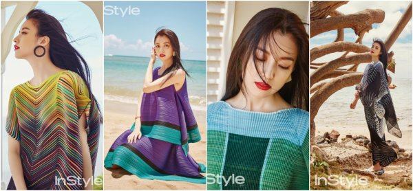 L'actrice Han HyoJoo pose pour InStyle Korea - juillet 2017
