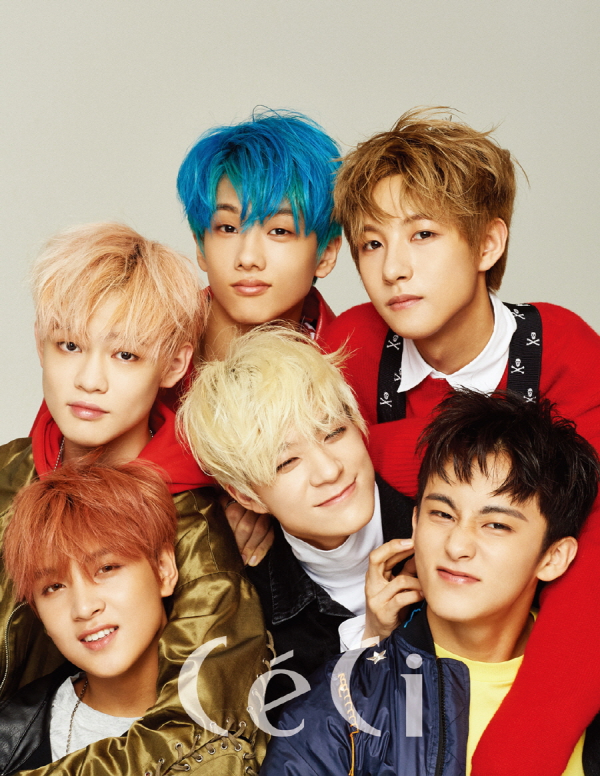 La sous-unité NCT Dream pour CéCi, août 2017
