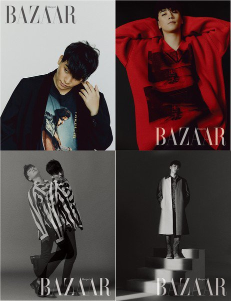 Seungri de BIGBANG pour Harper's Bazaar Korea, édition août 2018