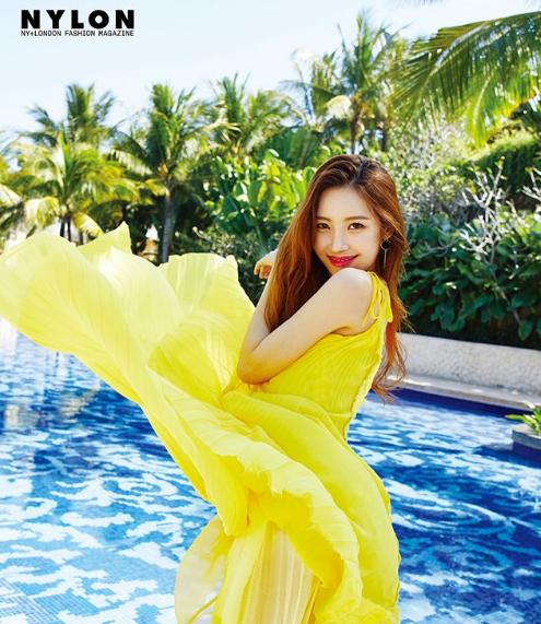 Sunmi (Wondergirls) pose pour Nylon Korea, juillet 2018