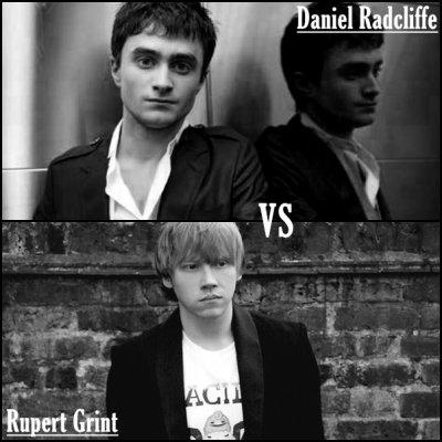 ^^^ Daniel Radcliffe ^ vs ^ Rupert Grint ^^^
