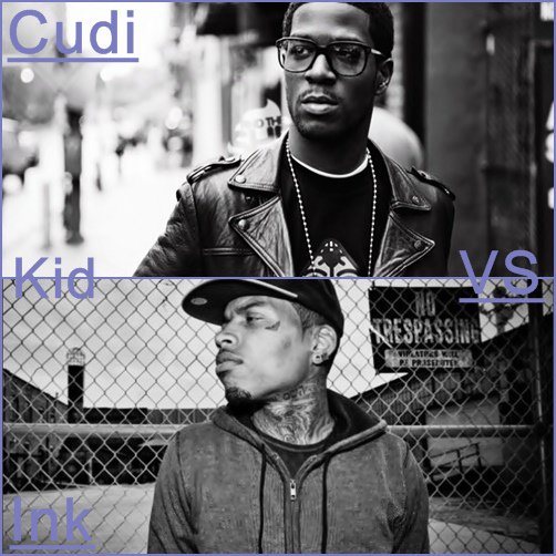 ''' Kid Cudi ' vs ' Kid Ink '''