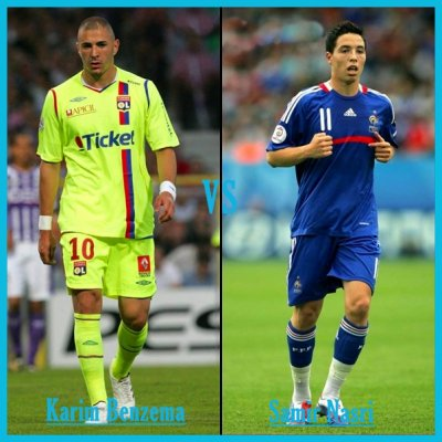 *** Karim Benzema * vs * Samir Nasri ***