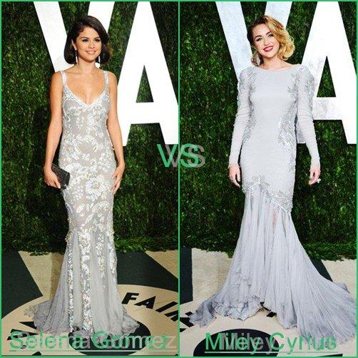 °°° Séléna Gomez ° vs ° Miley Cyrius °°°