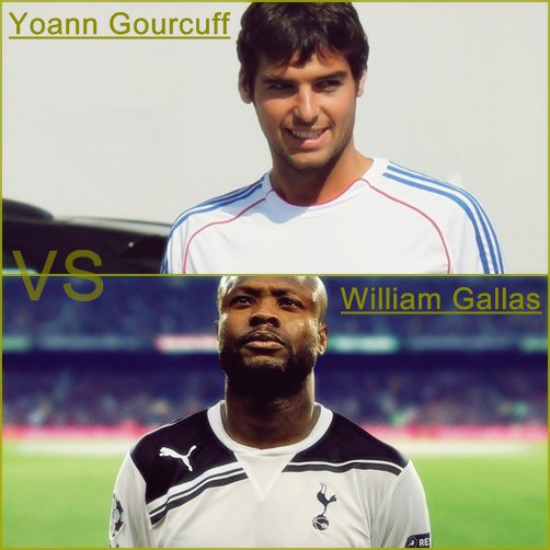*** Yoann Gourcuff * vs * William Gallas ***