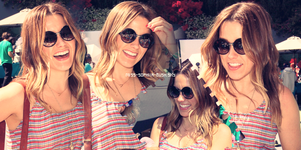 Le 13 Mai 2012, Sophia au 4th Annual Foster Mother's Day Celebration.