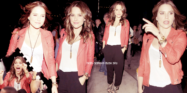 Le 1er Avril 2012, Sophia s'est rendue à un match de basketball.
