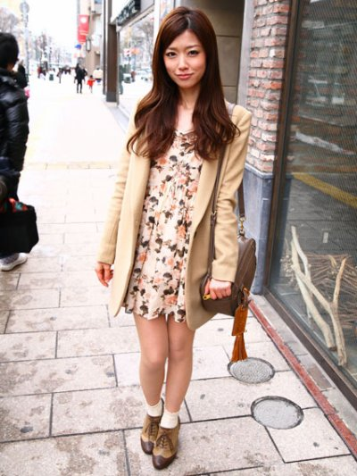 Street style 1: Que trouve t-on de beau dans les rues japonaises..