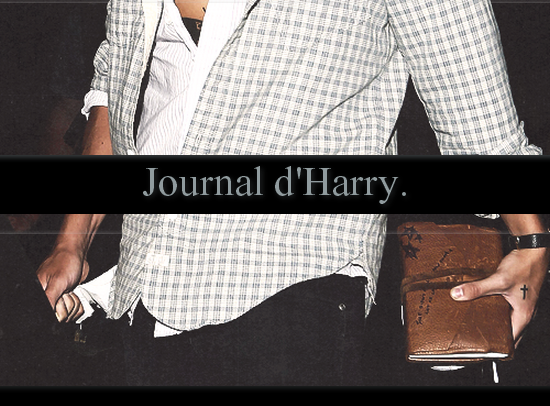Journal d'Harry.