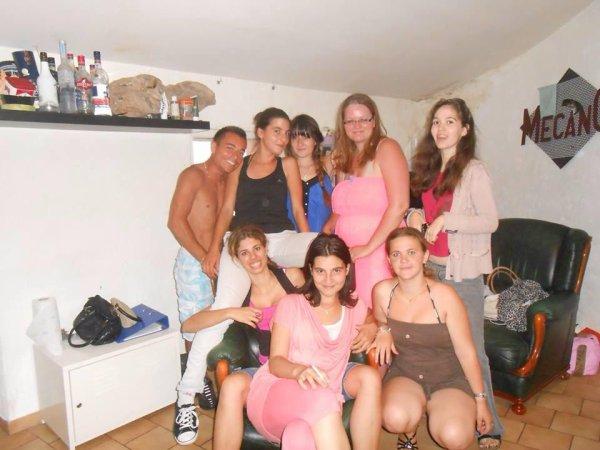 Micka,Sylvia,Léa,Sophie,Cindy ma soeur,Laurine,Laura et moi