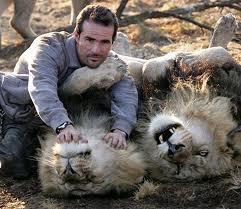 l'amitier entre l'homme et le lion