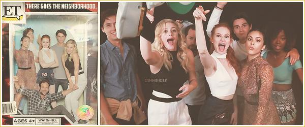 .  ▬ Découvrez des photos de Camila et ses co-stars de la série Riverdale • Comic Con 2016