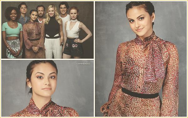 .  ▬ Découvrez des photos de Camila et ses co-stars de Riverdale • Los Angeles Times 2016