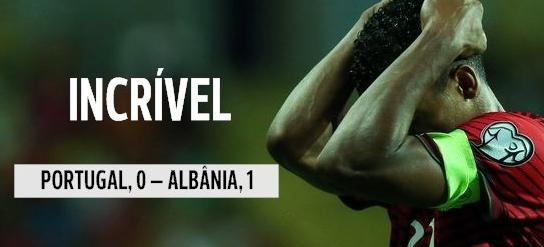 Qualifications Euro 2016 : Portugal 0-1 Albanie : L'HUMILIATION TOTALE !