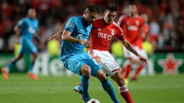 Ligue des Champions : Benfica 0-2 Zenit : Un début de match cauchemardesque !