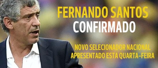 Fernando Santos nouveau sélectionneur de la Selecção !