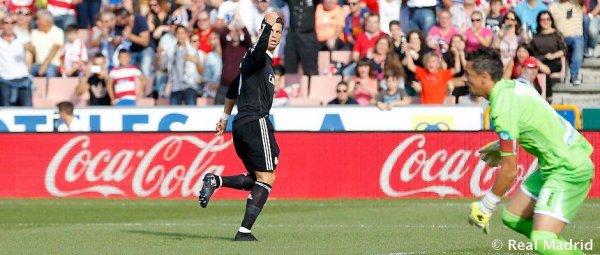 Cristiano Ronaldo encore brillant sur la pelouse de Granada !