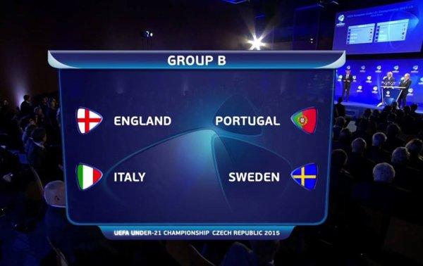 Euro 2015 (-21 ans) : Le Portugal avec l'Italie et l'Angleterre !