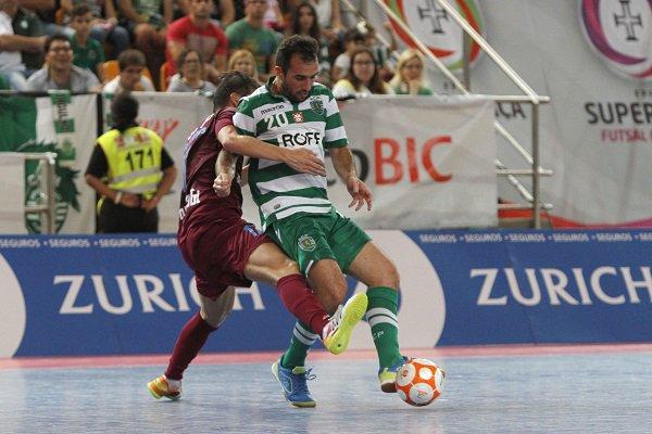 """Futsal : Le Sporting remporte la """"Supertaça"""" !"""