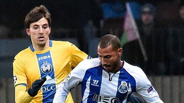 Ligue des Champions : BATE Borisov 0-3 FC Porto : Première place assurée !
