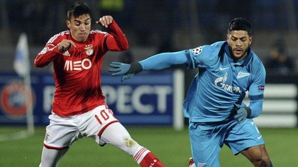 Ligue des Champions : Zenit 1-0 Benfica : Adieu l'Europe...