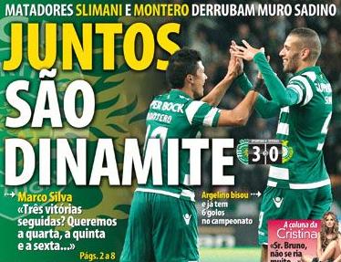 Primeira Liga (Championnat Portugais) 2014-2015 - 11ème journée