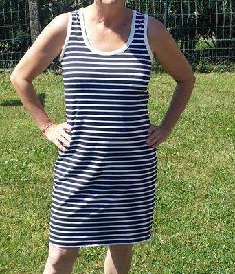 Petite robe d'été bien de circonstance.