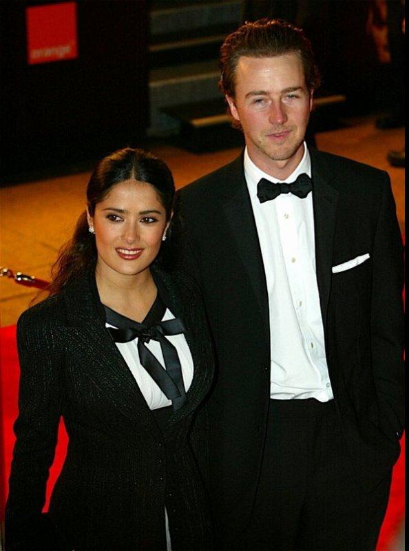 Edward Norton And Salma Hayek
