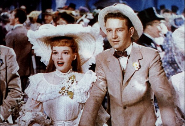 1944, Judy tourne un film à succès, de son mari Vincente