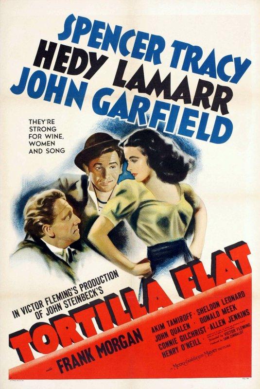 """3 films voient le jour en 1942 : Le premier, """"Tondelayo"""" (white cargo) de Richard THORPE... Langford dirige en Afrique une plantation d'hévéas. Il tombe sous le charme de la vénéneuse Tondelayo, une beauté indigène. Malgré les mises en gardes de Harry Witzel, notable local, il va se laisser mener par elle aux frontières de la folie et, accessoirement, au bord de la ruine. ; Second film, """"Carrefours"""" (Crossroads) de Jack CONWAY... L'histoire d'un diplomate Français et de son épouse en lune de miel à Paris à qui il va arriver une mésaventure. ; Le troisième films, """"Tortilla flat"""" de Victor FLEMING... Pilon et Danny sont deux pêcheurs de la côte californienne qui survivent comme ils peuvent. Lorsque la chance se décide à sourire à Danny, celui-ci hérite de deux maisons dans lesquelles il décide d'accueillir Pilon et ses amis. (affiches Américaines et photos des 3 films respectifs)."""