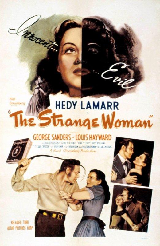 """On continue avec ces 2 films, l'un en 1946, """"Le Démon de la chair"""" de Edgar ULMER... Dans le Maine du XIXème siècle, une femme fatale sème la mort autour d'elle, n'hésitant pas à demander à son soupirant de tuer son père s'il veut qu'elle cède à ses avances, et fait ainsi basculer le destin de trois hommes amoureux d'elle. ; Le film suivant, en 1950, de Joseph H LEWIS, """"La dame sans passeport""""... A la Havane, un agent des services d'immigration, tente de demanteler un reseau qui fait entrer dans le pays des etrangers en situation irreguliere. Il rencontre Marianne Lorresse et s'eprend d'elle. La jeune femme veut vivre aux Etats Unis mais n'a pas de passeport. Elle est prise en otage par le reseau et l'agent se lance a sa poursuite... (affiches Américaines et photos des 2 films respectifs)."""