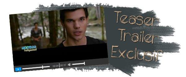 Exclusif : Teaser Trailer: 'The Twilight Saga: Breaking Dawn - Part 1'