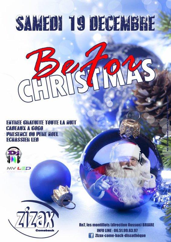 be for chrismas samedi 19 decembre