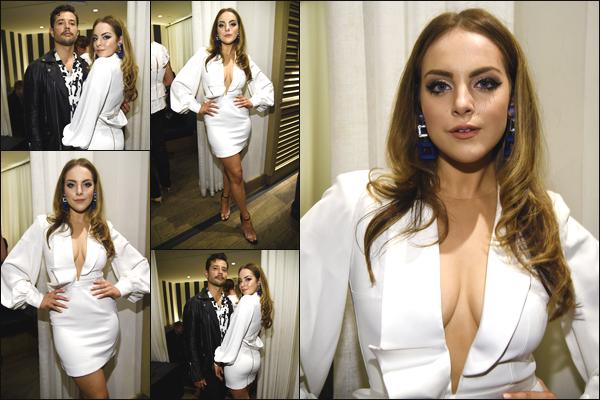 ''• '17/05/18:'' Elizabeth Gillies s'est rendue à la soirée « CW Network Upfront Party » organisé à New York ! La jeune femme était en compagnie de sa co star : Rafael de La Fuente. Je lui accorde un grand top pour sa tenue ! Quel est votre avis ?!