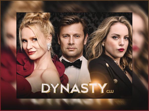 • Découvrez cette toute nouvelle photo promotionnelle de « Dynasty » pour la saison 2 !