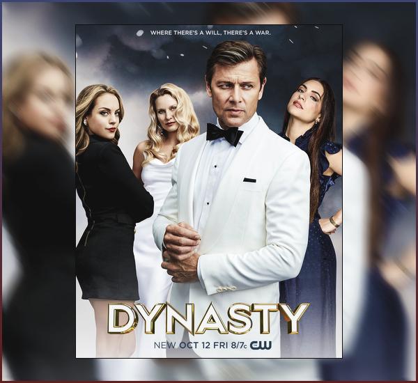 • Découvrez une nouvelle photo promotionnelle de « Dynasty » pour la deuxième saison !