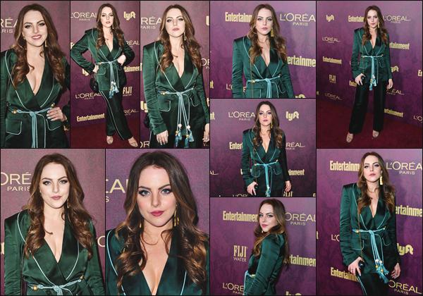 ''• '14/09/18:'' Liz s'est rendue au « Entertainment Weekly Pre-Emmy and L'Oreal Party » dans Los Angeles. Après plusieurs semaines sans nouveautés de la belle actrice, nous pouvons enfin la retrouver lors d'un événement, c'est un immense top.