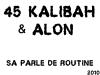 AlOn feat 45 Kalibah - sa parle de routine