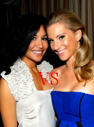 Naya Rivera VS Heather Morris