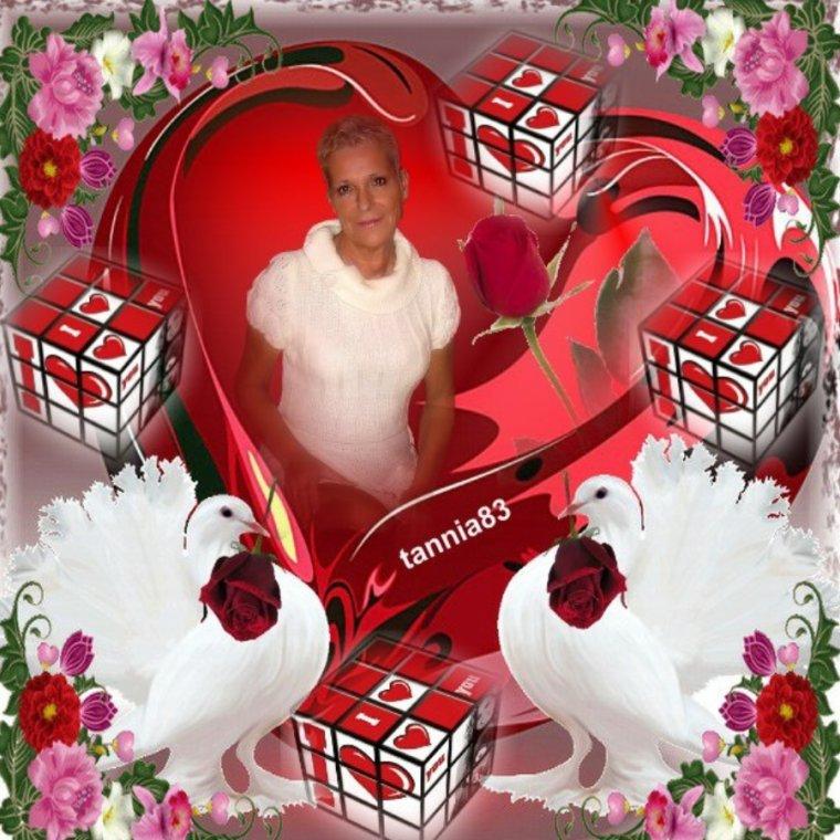 CADEAUX POUR MA BICHEDU54 J TADORE MA NOËLLE GROSSES BIZZZ TANNIA !!!!!! C EST AVEC CES MERVEILLEUSES CREATIONS DE MA FILLE DE COEUR TANNIA83 QUE JE VOUS SOUHAITE UNE DOUCE SOIREE GROS BISOUS BICHEDU54