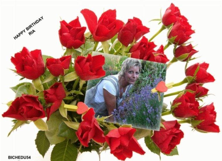 JOYEUX ANNIVERSAIRE A MA DOUCE AMIE RIA4EVER PLEIN DE GROS BISOUS BICHEDU54