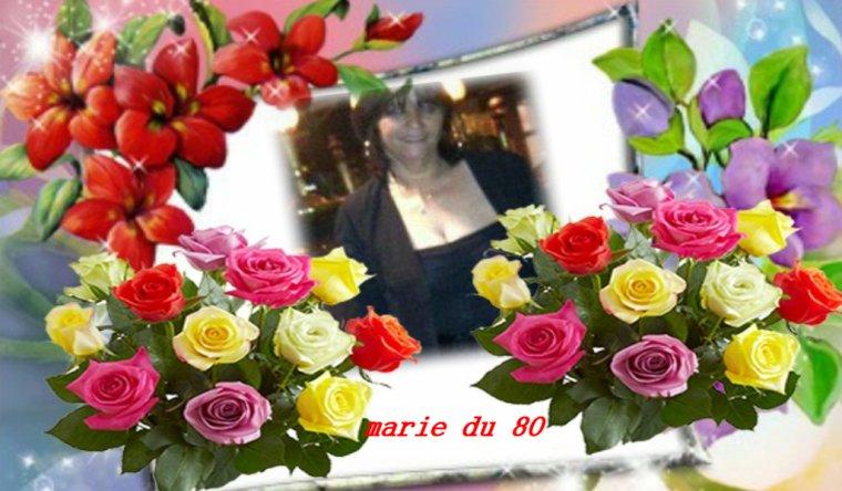 KDOS POUR MA DOUCE AMIE MARIE-DU-80 GROS BISOUS BICHEDU54
