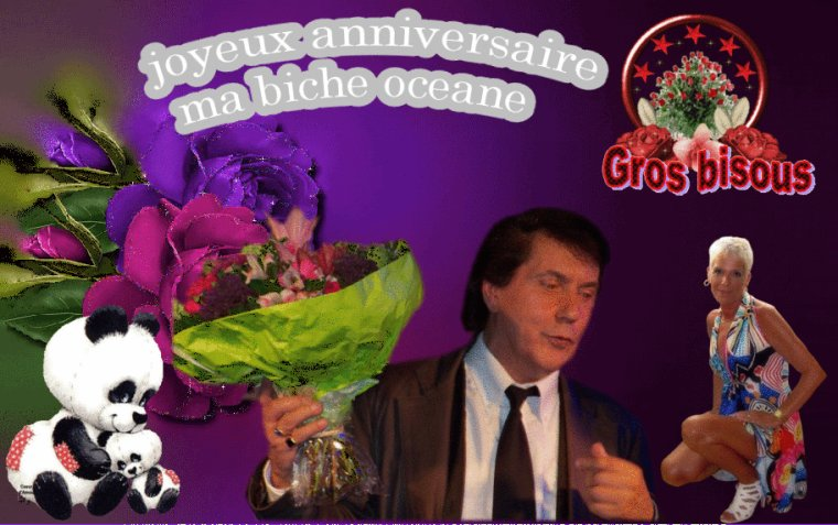 MERCI A MA PETITE PUCE OCEANE POUR SES SUBLIMES CREATIONS GROS BISOUS A TOI MA BELLE BICHEDU54