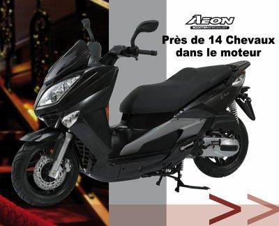 Scooter 125cc Aeon Elite 14CH