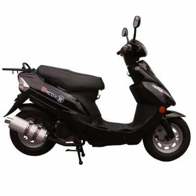 Scooter 50cc 4 temps E5 Noir