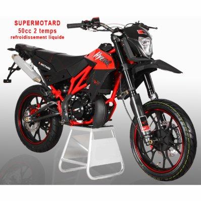 Supermotard 50cc 2 temps liquide