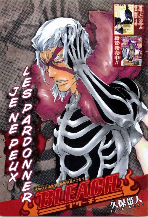 Scan Bleach 477  en ligne sur  http://uchimaki.com/  rejoins la légion shinobi